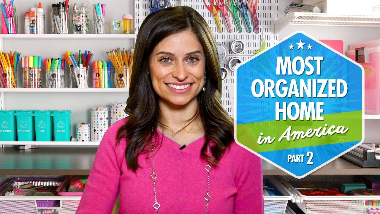 Video Most Organized Home In America Part 2 By